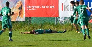 Spielabbruch SV Längenfeld gegen SPG Roppen/Karres