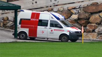 Verletzungsschock für Hertha Wels