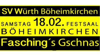 Böheimkirchen lädt zur Fasching´s Gschnas!