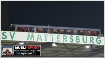 Dort verschlägt es die Mattersburg-Kicker hin