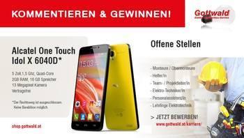 MITMACHEN und Smartphone von Gottwald gewinnen!