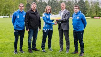 FSG Ober-Grafendorf erhält 1000€-Scheck