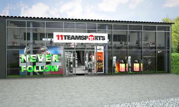 11teamsports eröffnet in Loosdorf