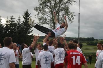 Meisterfeier SV Bergern