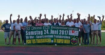Traiskirchen empfängt den SK Rapid Wien