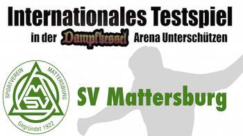 Internationales Testspiel!
