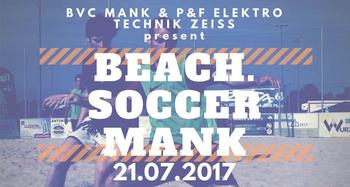 Beachsoccerturnier in Mank