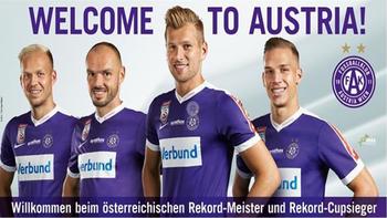 """Monschein auf """"Rekordmeister""""-Plakat"""