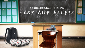 BACK TO SCHOOL: Bis zu -60%!