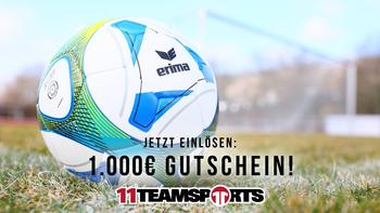 1000€ ERIMA-Gutschein jetzt einlösen!