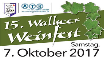 Wallsee lädt zum 15. Weinfest