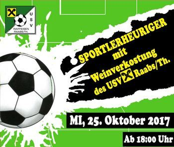 Sportlerheuriger in Raabs