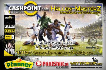 JETZT ANMELDEN: Hallen-MasterZ in Innsbruck