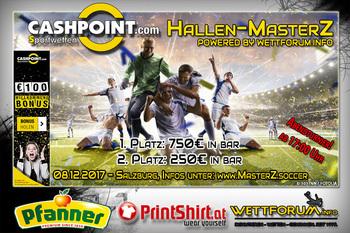 JETZT ANMELDEN: Hallen-MasterZ in Salzburg