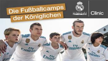 Real Madrid-Camp in Rotenturm
