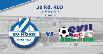 Der 3. Versuch: SV Horn vs. SKU Amstetten