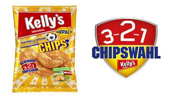 Neue Kelly´s Chipssorte ist gewählt