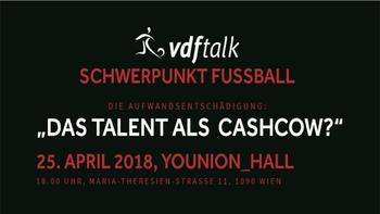 """VdF-Talk: """"Das Talent als Cashcow?"""""""