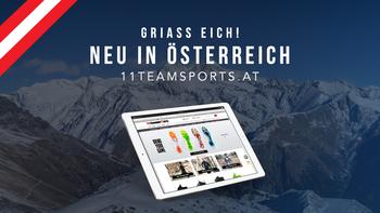 11teamsports goes Österreich