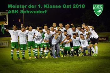 Schwadorf krönt sich zum Meister