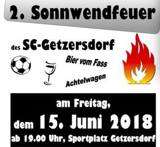 Sonnwendfeier des SC Getzersdorf