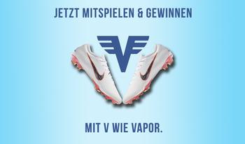 Gewinne den neuen Nike Mercurial Vapor!