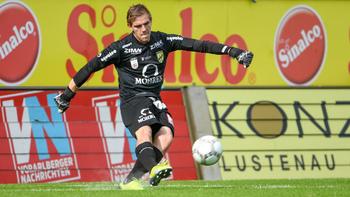 Lustenau verleiht Keeper nach Deutschland