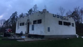 Unwetter zerstört Vereinsheim