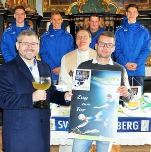 """Rehbergs Fußballer mit """"Zug zum Tor"""""""
