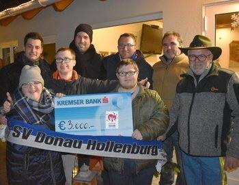 Hollenburg sagt Danke