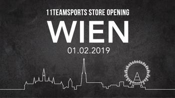 11teamsports eröffnet in Wien!