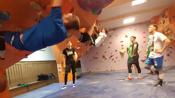 Tenneck goes Boulderhalle