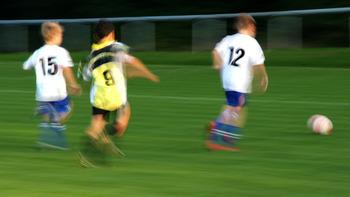 Sierndorf-Kicker gestalten Turnstunde