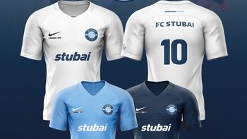 FC Stubai präsentiert Trikots