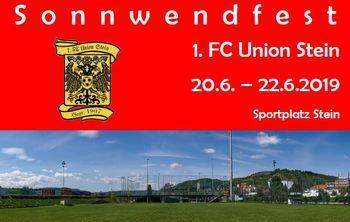 Sonnwendfest beim 1. FC Union Stein