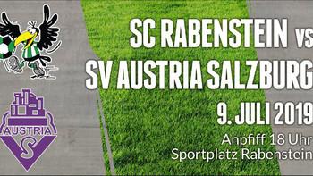 Rabenstein testet gegen Austria Salzburg