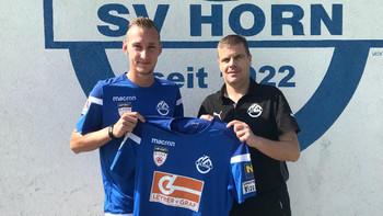 Horn verpflichtet Hartberg-Kicker