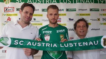 Lustenau verpflichtet Liefering-Talent