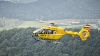 Hubschrauber-Einsatz in Köttmannsdorf