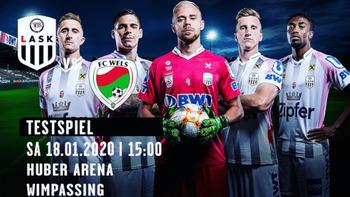FC Wels testet gegen Europacup-Helden