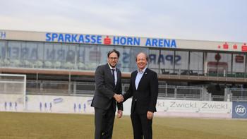 Neuer Stadionname für Horn