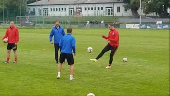 Arnautovic trainierte mit Amateur-Klub