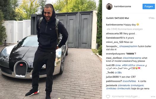 Karim Benzema Instagram
