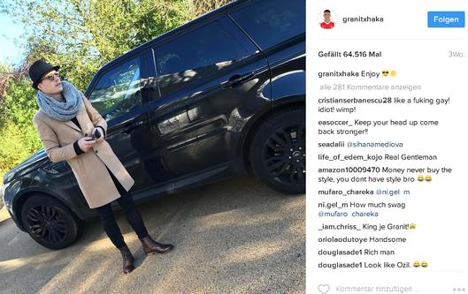 Granit Xhaka Instagram