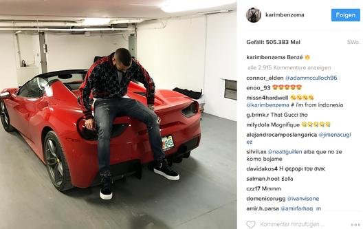 Benzema Instagram