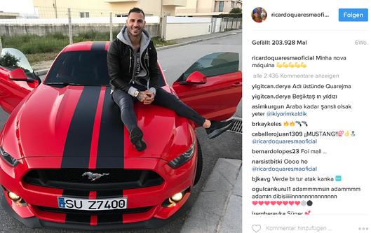 Ricardo Quaresma Instagram