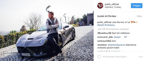 Lukas Podolski Instagram