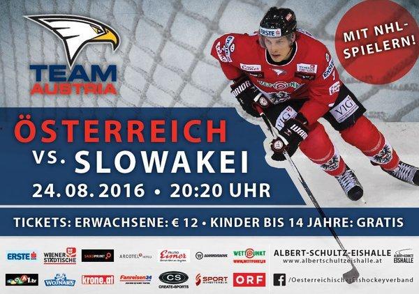 Eishockey Österreich Slowakei