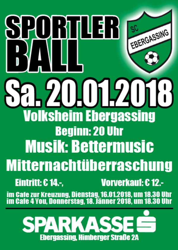 Sportlerball SC Ebergassing