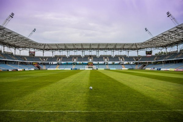 Stadion Rasen Fußball
